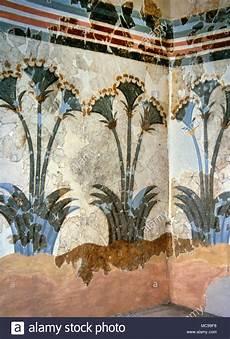 papyrus fresco ca 1550 bc minoan bronze age from