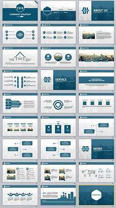 Powerpoint Template Professional 27 Company Report Professional Powerpoint Templates