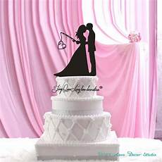 personalized wood wedding cake topper wedding bride and