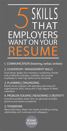 Skills To Have On A Resume 126 Best Images About Resume On Pinterest Infographic