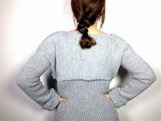 how to loom knit a sweater pullover jersey diy