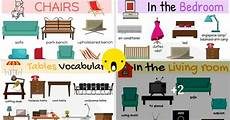 Chart Furniture Types Of Furniture Useful Furniture Names With Pictures