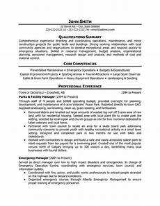 Facilities Manager Resume Top Retail Resume Templates Amp Samples