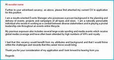 How To Write Covering Letter For Cv 12 Cv Cover Letter Examples Ensure Your Cv Gets Opened