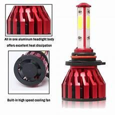 2011 Ford Escape Light Bulb 4 Side H13 9008 Hi Lo Beam Led Headlight Bulbs For 2008