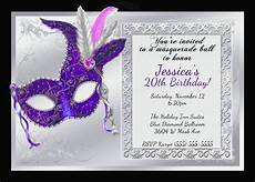 Masquerade Party Invitations Templates Mardi Gras And Masquerade Birthday Invitations Kustom