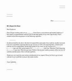 How To Write A Raise Request Letter Raise Request Letter Sample Template Word And Pdf