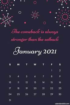 C Alendar Inspiring 2021 Calendar Monthly Quotes Calendar 2021