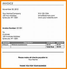 How To Write A Invoice For Freelance Work Write Invoice Apcc2017