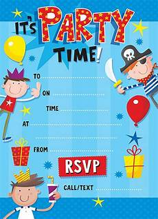 Free Printable Party Invitations For Boys Boy S Fun Birthday Party Invitation Fun Boy S Invite