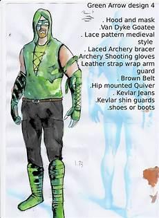 Arrow Costume Designer Green Arrow Costume Designs Luke Tomlinson Ual Fad