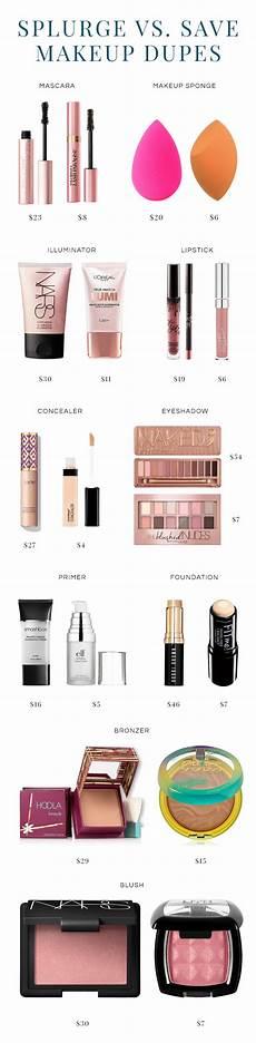 splurge or save 10 makeup dupes politics of pretty