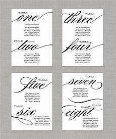 Table Seating Chart For Wedding Reception Template Wedding Seating Chart Table Numbers By Paperandlaceaustin