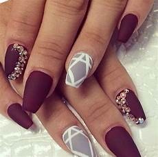 Burgundy And Black Nail Designs 27 Burgundy And Black Nail Designs Nails Pix