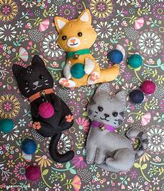 crafts felt diy felt craft kittens lia griffith