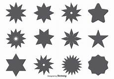 Star Vectors Free Vector Star Shape Set Download Free Vectors Clipart