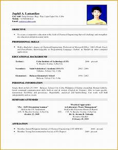 Resume Search Philippines 5 Jobstreet Resume Sample Free Samples Examples