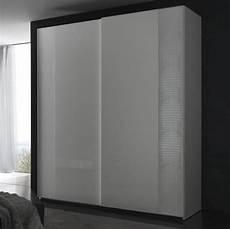 nightfly white 2 door sliding wardrobe armoires