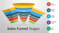 Sales Funnel Templates Sales Funnel Stages Powerpoint Template Youtube