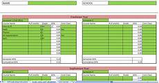 Gpa Calculator Excel Template College Gpa Calculator Excel College Gpa Calculator