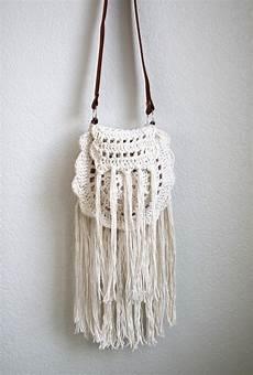 boho tassel crochet bag free pattern lou