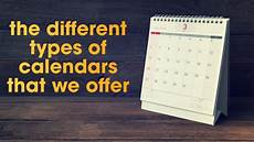 Type In Calendar Types Of Calendars Followed In India You Calendars