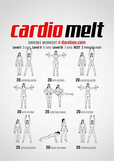 Cardiovascular Exercise Cardio Melt Workout