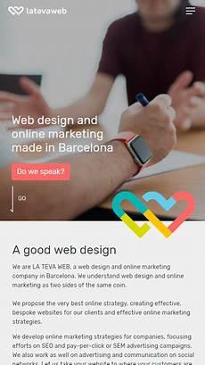La Web Design La Teva Web Web Design Agency Mobile Report