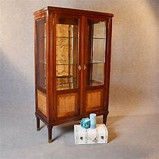 antique display china cabinet glazed bookcase