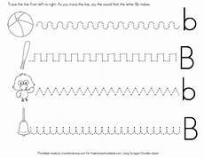 free letter b worksheets instant download free