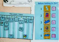 Make Your Own Class Schedule Visual Schedule For Better Behavior In Spd And Asd Kids