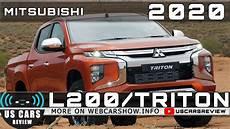 Mitsubishi L200 Triton 2020 by 2020 Mitsubishi L200 Triton Review Release Date Specs
