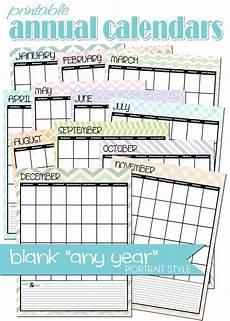 Free Blank Printable Calendars Freebie Blank Any Year Calendar Blank Monthly