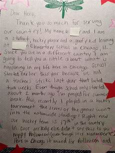 How To Write A Letter To A Soldier 10 Images About Kids Letters To Soldiers On Pinterest