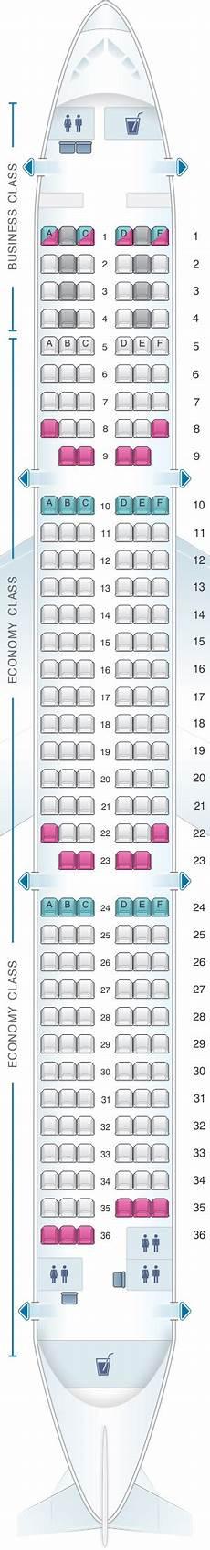 Alitalia Flight 631 Seating Chart Seat Map Finnair Airbus A321 201pax Air Transat