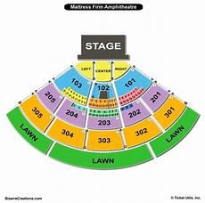 Mattress Firm Amphitheatre Seating Chart View Mattress Firm Amphitheatre Seating Chart Seating Charts