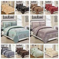 new luxury 3pcs jacquard 220gsm quilted bedspread