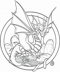 Malvorlagen Dragons Pdf Realistic Coloring Pages Of Dragons At Getcolorings