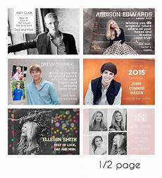 Senior Ad Templates Download Senior Ads For Yearbooks Templates Free Anayaath