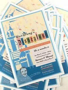Disney Themed Party Invitations Disneyland Themed Birthday Party Invitation Disneyland