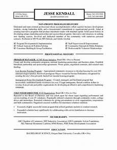 Nonprofit Cover Letter Resume Examples Nonprofit Cover Letter For Resume