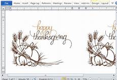 thanksgiving cards word template best thanksgiving templates for microsoft word