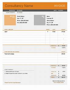 Invoice Format For Consultancy 10 Simple Invoice Templates Every Freelancer Should Use