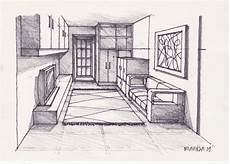 Architecture Design Drawing Techniques A Room 270509 Pencil Rendering Drawing And Paint