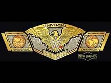 Design A Wwe Belt Online New Wwe Universal Championship Belt Design Youtube