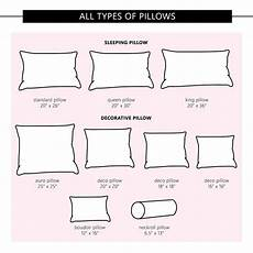 Cushion Size Chart Pillow Size Guide Liquid Image