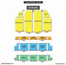 Palace Theatre New York City Seating Chart United Palace Theatre Seating Chart Seating Charts Amp Tickets