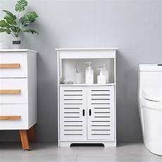 ubesgoo bathroom floor storage cabinet free standing