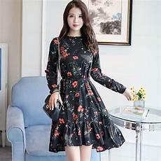 korean fashion 2019 new fashion sleeve floral