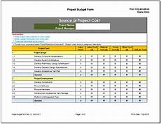 Project Budget Templates Project Budget Planner Template Budget Templates